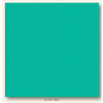 My Colors Cardstock - My Mind's Eye - 12 x 12 Mini Dots Cardstock - Sea Holly