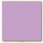 My Colors Cardstock - My Mind's Eye - 12 x 12 Mini Dots Cardstock - Lavender