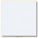 My Colors Cardstock - My Mind's Eye - 12 x 12 Canvas Cardstock - Snowbound