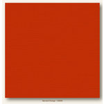My Colors Cardstock - My Mind's Eye - 12 x 12 Canvas Cardstock - Harvest Orange