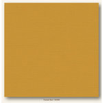 My Colors Cardstock - My Mind's Eye - 12 x 12 Canvas Cardstock - Tuscan Sun