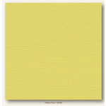 My Colors Cardstock - My Mind's Eye - 12 x 12 Canvas Cardstock - Yellow Corn