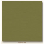 My Colors Cardstock - My Mind's Eye - 12 x 12 Canvas Cardstock - Grasshopper