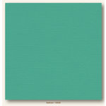 My Colors Cardstock - My Mind's Eye - 12 x 12 Canvas Cardstock - Seafoam