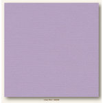 My Colors Cardstock - My Mind's Eye - 12 x 12 Canvas Cardstock - Lilac Mist