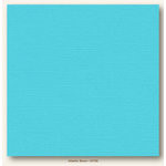 My Colors Cardstock - My Mind's Eye - 12 x 12 Canvas Cardstock - Atlantic Shore