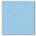 My Colors Cardstock - My Mind's Eye - 12 x 12 Canvas Cardstock - Sky