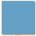 My Colors Cardstock - My Mind's Eye - 12 x 12 Canvas Cardstock - Madras Blue