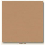 My Colors Cardstock - My Mind's Eye - 12 x 12 Canvas Cardstock - Sandy Beach