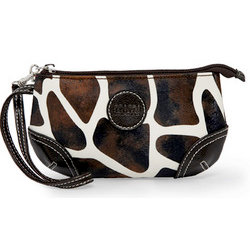 MiMi - Oasis Collection - Designer Wristlet - Giraffe Print