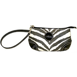 MiMi - Oasis Collection - Designer Wristlet - Zebra Print, CLEARANCE