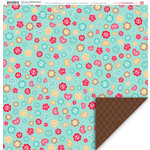 My Little Shoebox - Sew Cute Collection - 12 x 12 Double Sided Paper - Nothing but Buttons