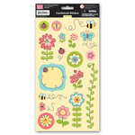 My Little Shoebox - Garden Party Collection - Cardstock Stickers