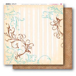 My Little Shoebox - Heartfelt Collection - 12 x 12 Double Sided Paper - Janice