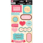 My Little Shoebox - Heartfelt Collection - Cardstock Stickers