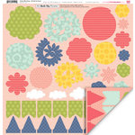 My Little Shoebox - Pretty Little Things Collection - 3 Dimensional Roll Up Flower