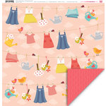 My Little Shoebox - Pretty Little Things Collection - 12 x 12 Double Sided Paper - All Things Beautiful