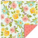 My Little Shoebox - Enchanted Garden Collection - 12 x 12 Double Sided Paper - Classy