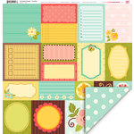 My Little Shoebox - Enchanted Garden Collection - 12 x 12 Double Sided Paper - Dazzling