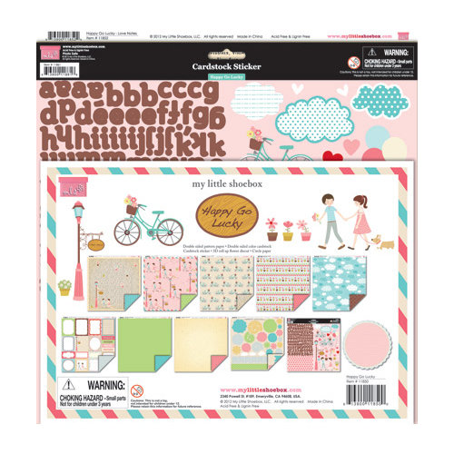 My Little Shoebox - Happy Go Lucky Collection - 12 x 12 Collection Kit