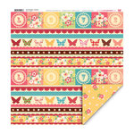 My Little Shoebox - Secret Garden Collection - 12 x 12 Double Sided Paper - Bonbons