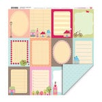 My Little Shoebox - Coming Home Collection - 12 x 12 Double Sided Paper - Urban Green