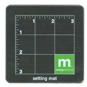 Making Memories Eyelet Setting Mat (4 x 4)