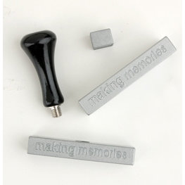 Making Memories Magnetic Stamp Base Set