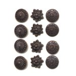 Making Memories Decorative Brads - Round - Antique Copper Variety Pack 1