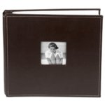 Making Memories 12 x 12 Leather Album - Asphalt