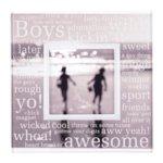 Making Memories Sheer Frames - Boy