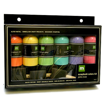 Making Memories Paint Colors Kit - Polo Club