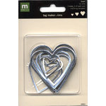 Making Memories - Tag Maker Rim Package - Heart Rims