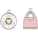 Making Memories - Tote Charms - Shopping, CLEARANCE