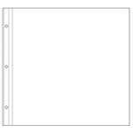 Making Memories - Noteworthy Collection - 12 x 12 Album Sheet Protectors - 10 Pack