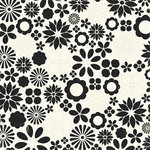 Making Memories - 5th Avenue Collection -12x12 Die Cut Paper - Sophia Floral