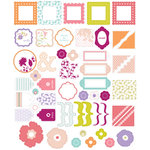 Making Memories - Noteworthy Collection - Glitter Box - Clears, CLEARANCE