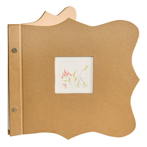 Making Memories - Noteworthy Collection - 8x8 Mini Album - Plain