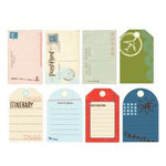 Making Memories - Passport Collection - Journaling Tags, CLEARANCE
