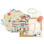 Making Memories - Passport Collection - Mini Book Kit, CLEARANCE