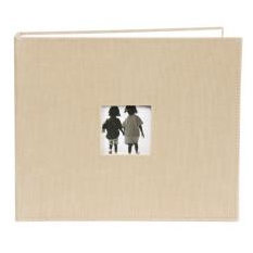 Making Memories - 8x8 Corduroy Album - 3-Ring - Beige