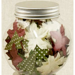 Making Memories - Flower Shop Blossoms Jar Collection - Christmas Mix