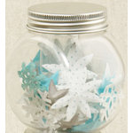 Making Memories - Flower Shop Blossoms Jar Collection - Winter Mix, CLEARANCE
