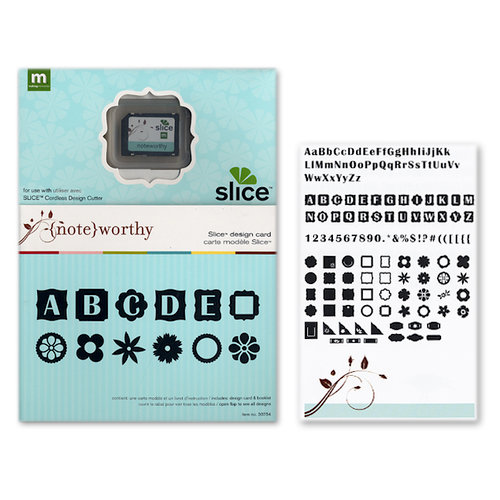 Making Memories - Slice Design Card - Noteworthy