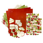 Making Memories - Fa La La Collection - Christmas - 12 x 12 Page Kit, CLEARANCE