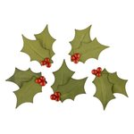 Making Memories - Fa La La Collection - Christmas - Blossoms - Hollyberries