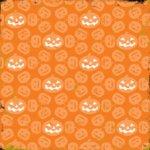 Making Memories - Spellbound Halloween Collection - 12 x 12 Die Cut Paper - Pumpkins, CLEARANCE