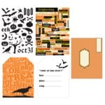 Making Memories - Spellbound Halloween Collection - Invitation Kit, CLEARANCE