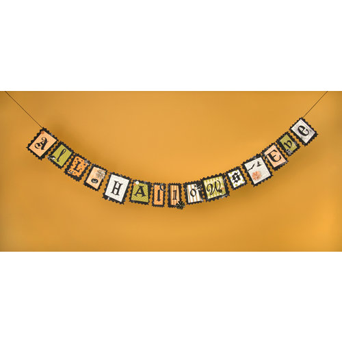 Making Memories - Spellbound Halloween Collection - Garland Kit, CLEARANCE