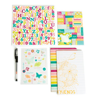 Making Memories - Just Chillin Girl Collection - Journal Kit, CLEARANCE